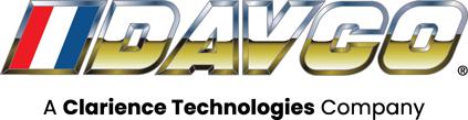 Logo for DAVCO, a Clarience Technologies company