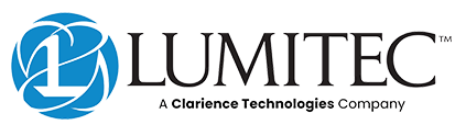 Logo for Lumitec Lighting, a Clarience Technologies company